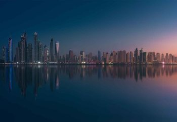 Dubai Marina Skyline Poster Mural XXL