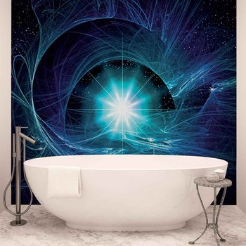 Etoile Cosmos Abstrait Poster Mural XXL