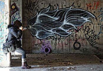 Fire! Poster Mural XXL