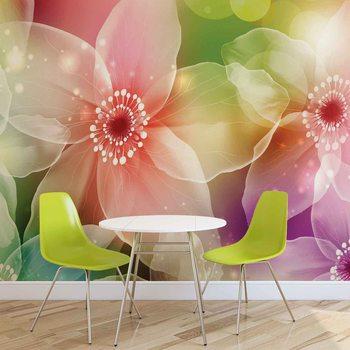 Fleurs Art Poster Mural XXL