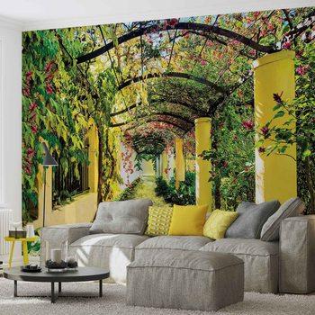 Fleurs Floral jardin Poster Mural XXL