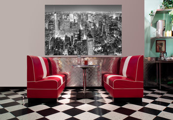 HENRI SILBERMAN - empire state building, east view Poster Mural XXL