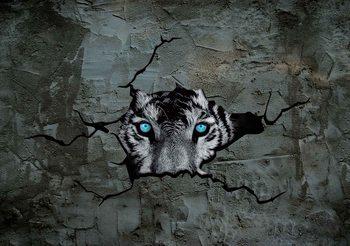 Jaguar Leopard 3D Poster Mural XXL