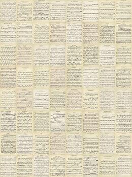 La musique - Music Notes Poster Mural XXL