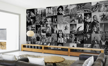 Life - black and white Poster Mural XXL