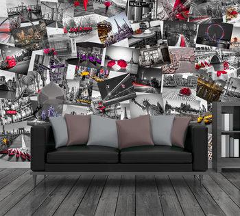 Métropoles du monde Poster Mural XXL
