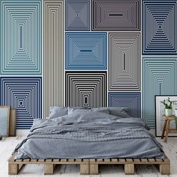 Modern Abstract Pattern Poster Mural XXL