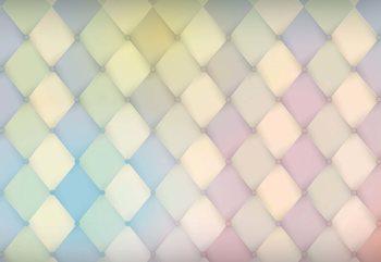 Modern Design Diamonds Poster Mural XXL