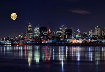 Montreal Night Poster Mural XXL