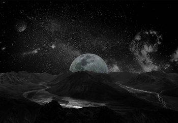 Moonscape Poster Mural XXL