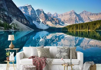 Mountain Mirror Poster Mural XXL