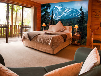 MOUNTAIN MORNING Poster Mural XXL