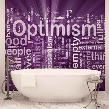 Optimisme Abstrait Poster Mural XXL