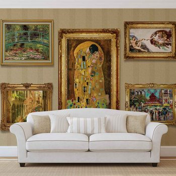 Paintings Art Luxury Poster Mural XXL