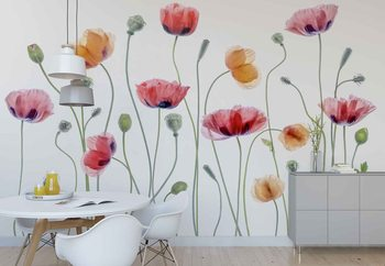 Papaver Party Poster Mural XXL
