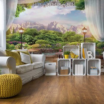 Paradise Nature View Poster Mural XXL