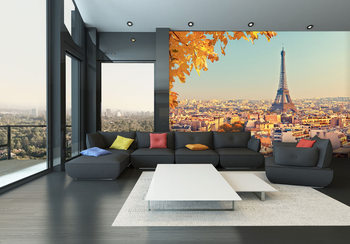 Paris - Eiffel tower Poster Mural XXL