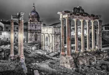 Roman Forum Rome Ancient Ruins Poster Mural XXL