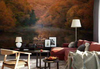 Romantic River Poster Mural XXL