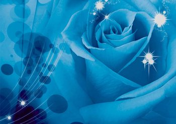 Rose Fleur Poster Mural XXL