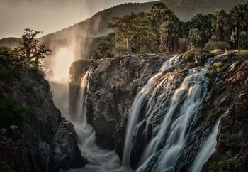 Sacred Waterfalls Poster Mural XXL
