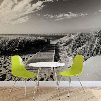 Scène de plage Poster Mural XXL
