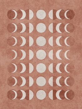 Somon Moonphase 02 Poster Mural XXL
