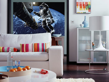 SPACE COWBOY Poster Mural XXL