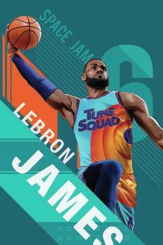 Space Jam 2 - Star LeBron Poster Mural XXL