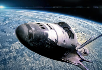 Space Shuttle Poster Mural XXL