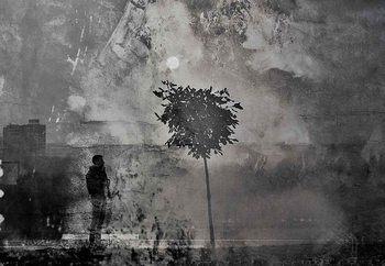 Splitting Shadows Poster Mural XXL