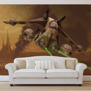 Star Wars Republic Attack Gunship Poster Mural XXL