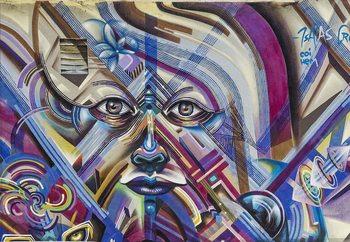 Street Eyes Poster Mural XXL