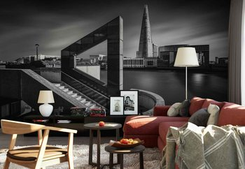 The Shard In Geometry Poster Mural XXL