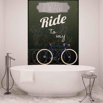 Vélo de course Poster Mural XXL