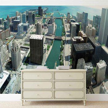 Ville de Chicago Poster Mural XXL