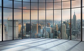 Vue de la ville de New York Poster Mural XXL