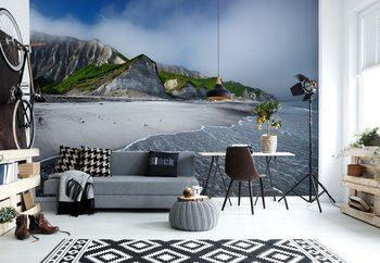 White Cliffs Of Iturup Island Poster Mural XXL