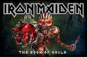 Posters textil  Iron Maiden - Book Of Souls