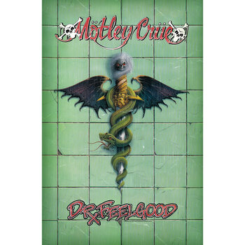 Posters textil Motley Crue - Doctor Feelgood