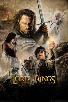 Плакат Властелинът на пръстените - η επιστροφή του βασιλιά