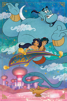 Плакат Aladdin - A Whole New World