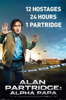 ALAN PARTRIDGE - alpha papa Poster