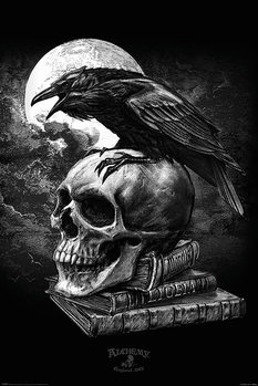 Poster  Alchemy - Poe's Raven