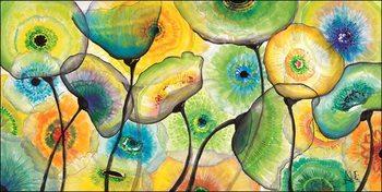 Konsttryck Ale - Fiori di vetro 2
