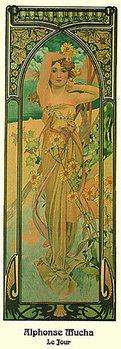 Poster Alphonse Mucha - Le Jour, 1899