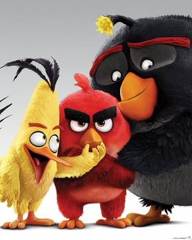 Poster Angry Birds - Characters