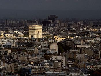 Konsttryck Arc De Triomphe