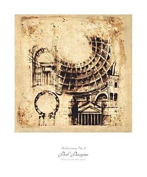 Architectorum No. 2 Kunstdruck
