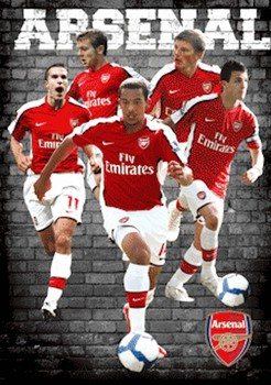 3D Poster ARSENAL - players 09/10